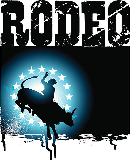 Bull Riding Illustrations, Royalty-Free Vector Graphics ...