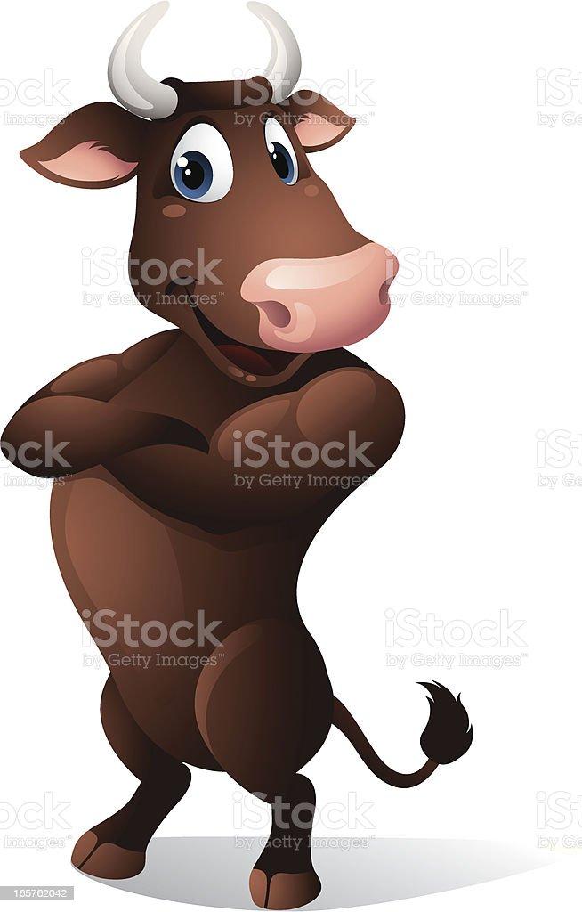 Bull royalty-free bull stock vector art & more images of animal