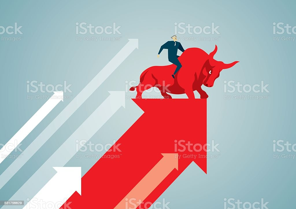 Bull vector art illustration