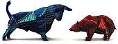Bull vs Bear Origami