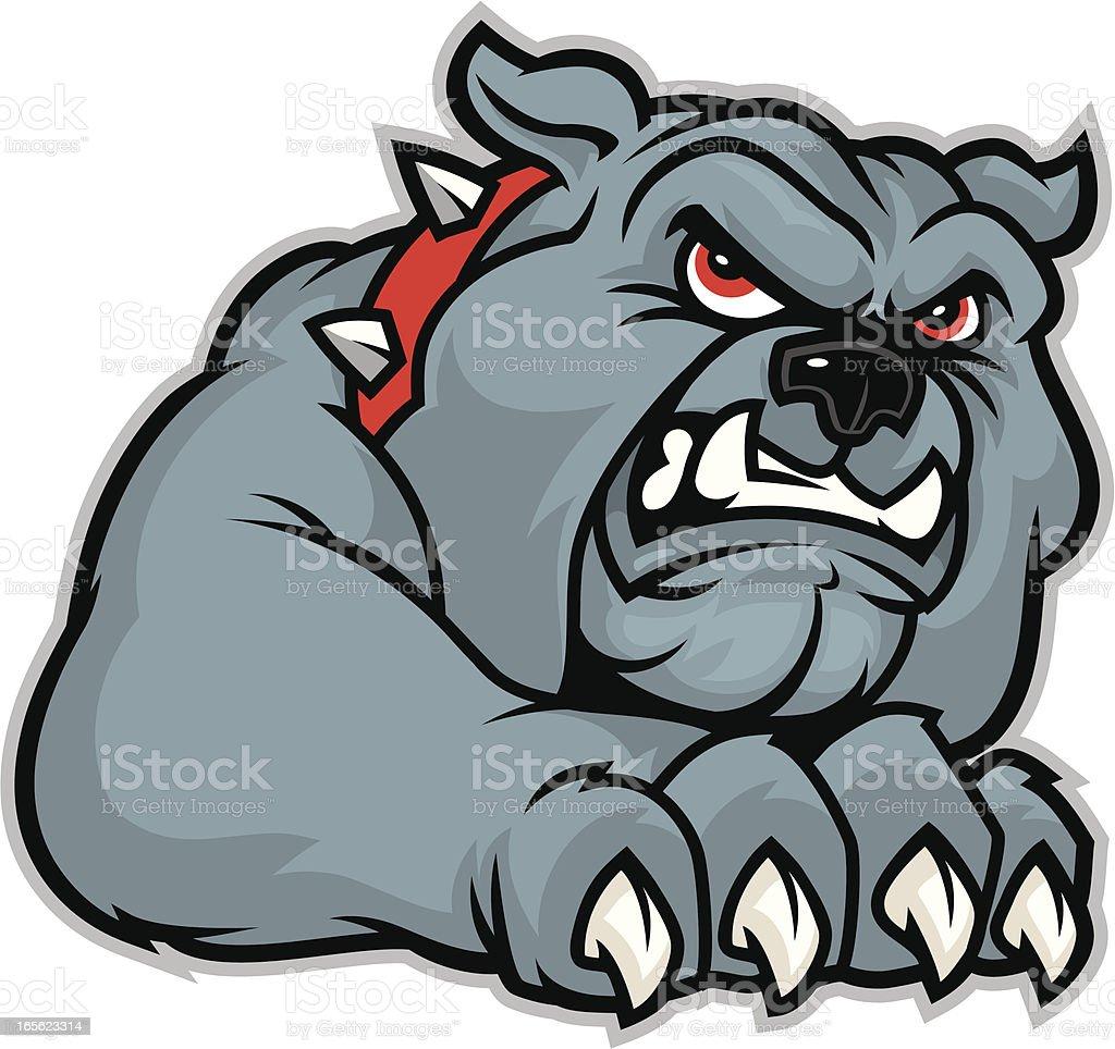 Bulldog Claw royalty-free stock vector art