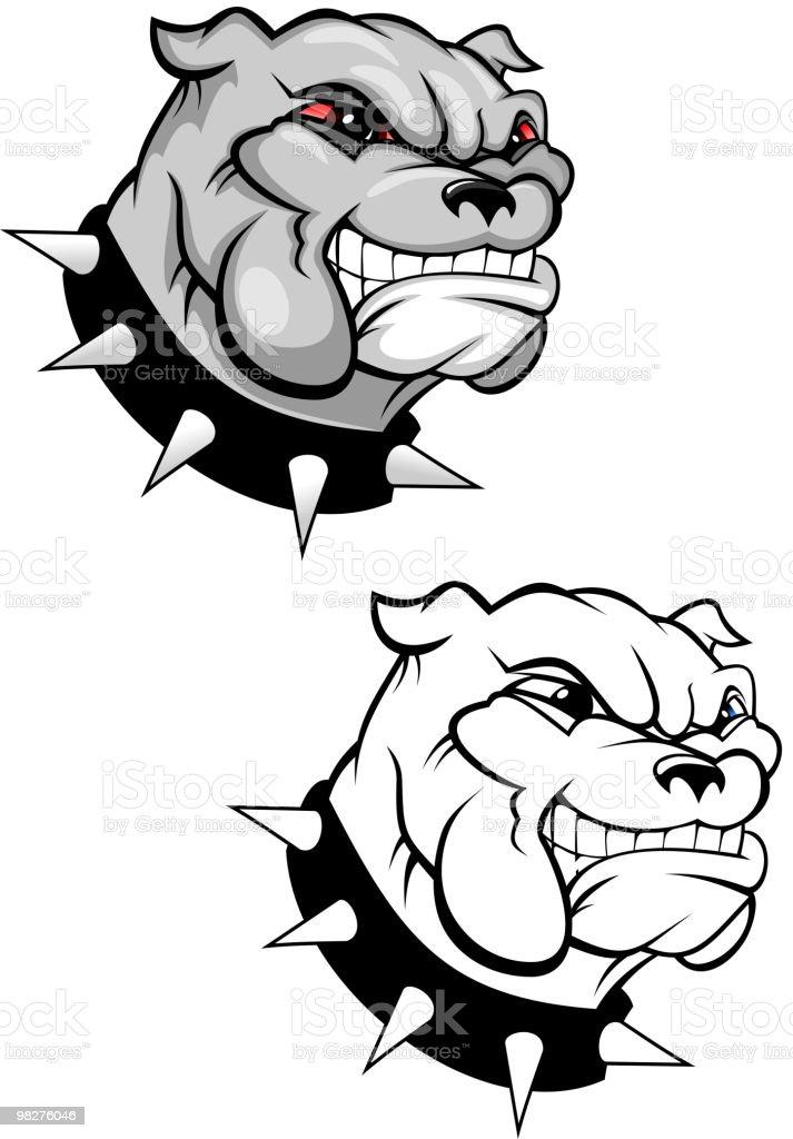 Bulldog head royalty-free bulldog head stock vector art & more images of anger