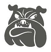 Bulldog Looking Sideways