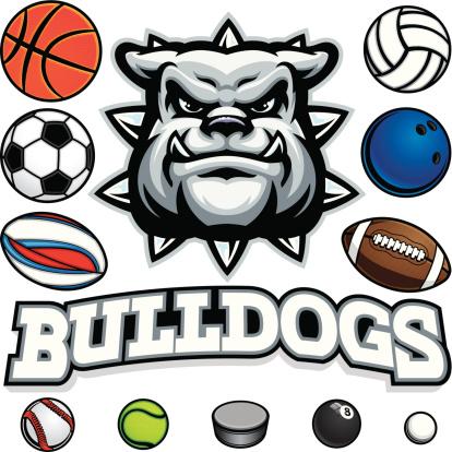 Bulldog Mascot Sports Package