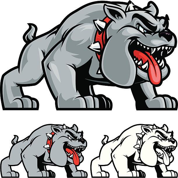 bildbanksillustrationer, clip art samt tecknat material och ikoner med bulldog stance ii - bulldog