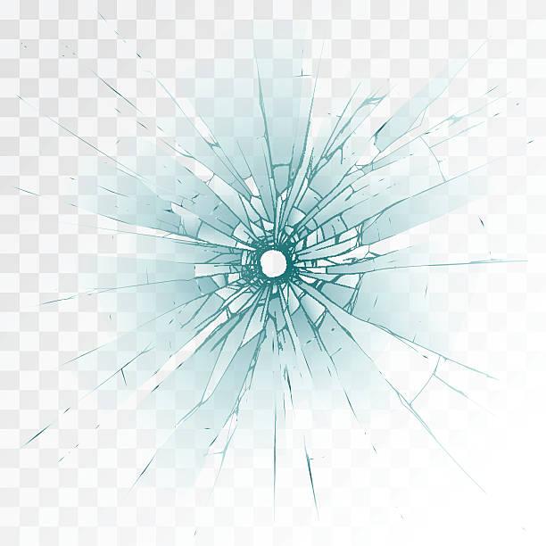 弾痕 - ガラスのテクスチャ点のイラスト素材/クリップアート素材/マンガ素材/アイコン素材