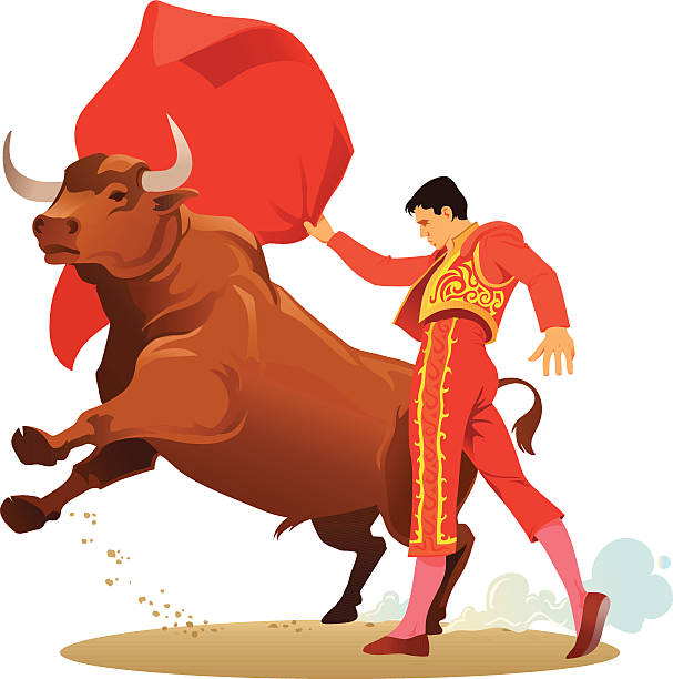 Best Bullfight Illustrations, Royalty-Free Vector Graphics ...