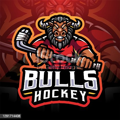 istock Bulls hockey 1291714408