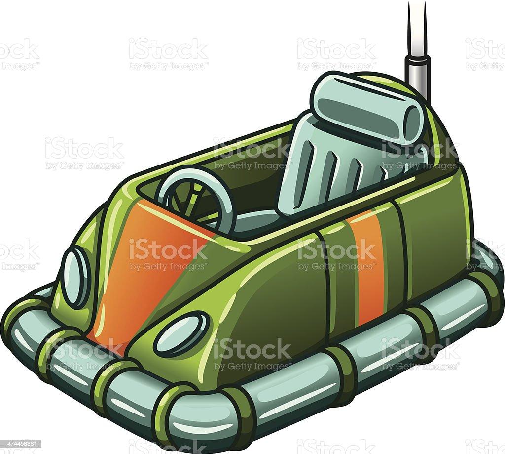 Tope Car2 C - ilustración de arte vectorial
