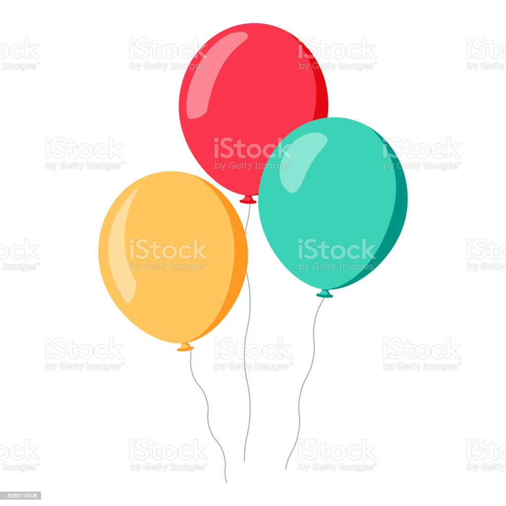 Bunch Of Balloons In Cartoon Flat Style Isolated On White Background Stock Illustration Download Image Now Istock Want to discover art related to balloons? bunch of balloons in cartoon flat style isolated on white background stock illustration download image now istock