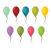 Good for birthday party anniversary celebration colorful balloons designs. Colorful balloons carnival happy surprise group helium string.