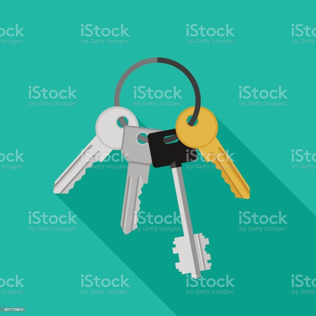 Bunch of keys.