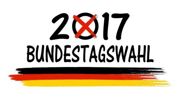 bundestagswahl-2017-symbol - kanzlerin stock-grafiken, -clipart, -cartoons und -symbole