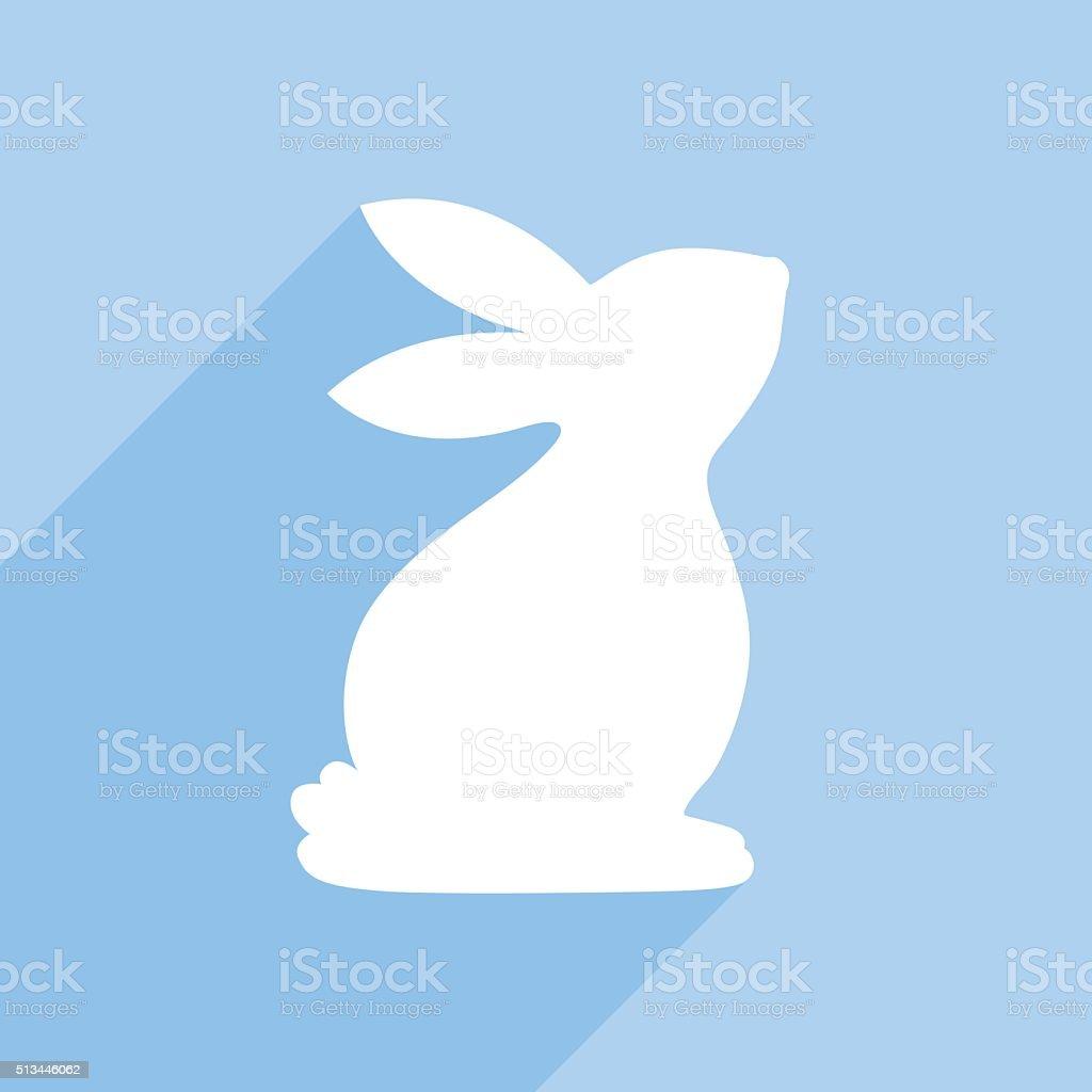 Bunny Icon vector art illustration