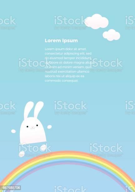 Bunny on a rainbow a4 vector id667685706?b=1&k=6&m=667685706&s=612x612&h=2obmis37cvtb2mfueeatdeg1pcusznpzce5ebnije1q=