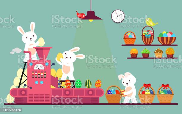Bunny or rabbit packaging easter eggs vector id1127788176?b=1&k=6&m=1127788176&s=612x612&h=e1q2y1bmexytvykc9uaqaa87byrcok6guvw xdnahle=