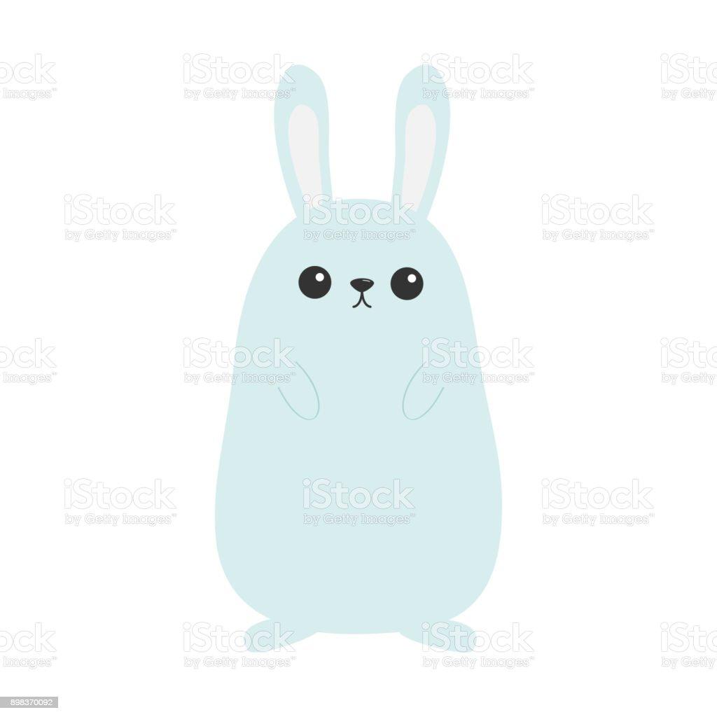 Ilustración de Conejo De Conejito Cara Divertida De Cabeza Orejas ...