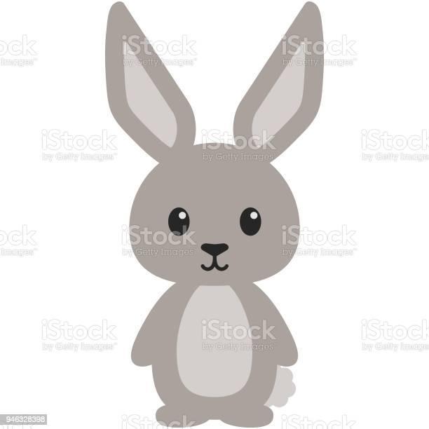 Bunny rabbit woodland animal illustration vector id946328398?b=1&k=6&m=946328398&s=612x612&h=00lw8pfwnoj3ugcomfkbvzqdsk1iwgnpmeqfy1 i pg=