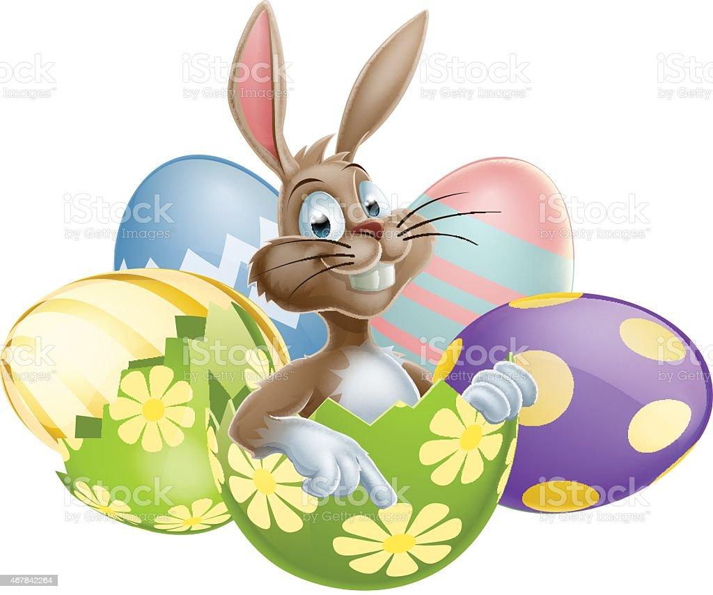 Bunnys Easter Egg by Anne Mortimer