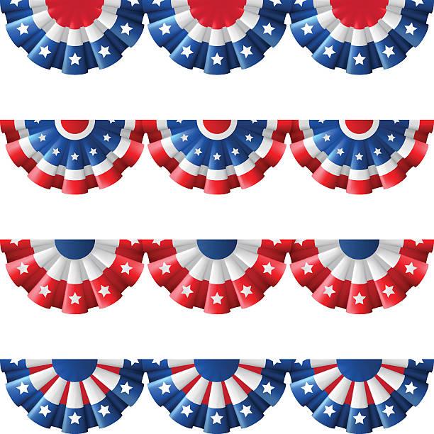 nas śpioszki wystrój - us flag stock illustrations