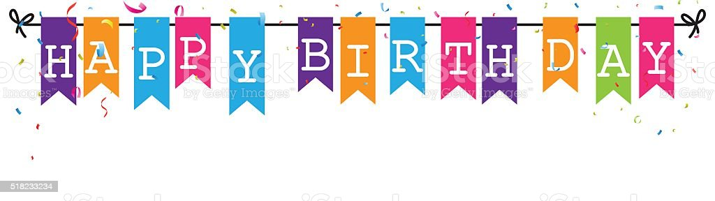 royalty free birthday clip art  vector images happy birthday banner clipart free birthday party banner clipart