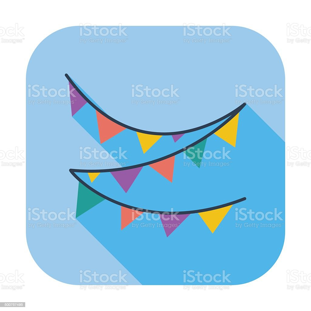 Bunting icon royalty-free bunting icon stock vector art & more images of banner - sign