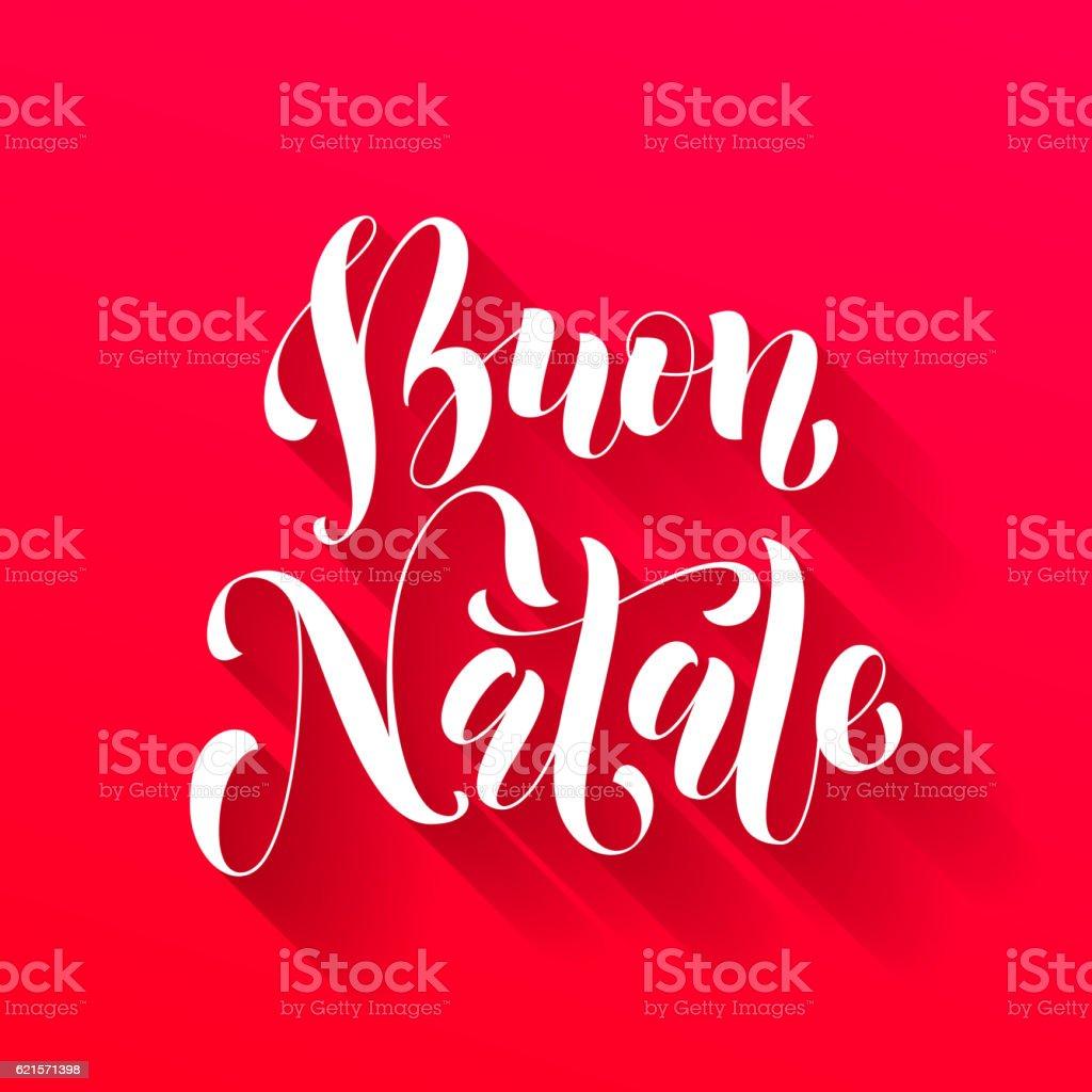 Buon natale greeting italian merry christmas stock vector art more buon natale greeting italian merry christmas royalty free buon natale greeting italian merry christmas m4hsunfo