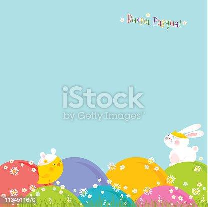 istock Buona Pasqua! 1134511670