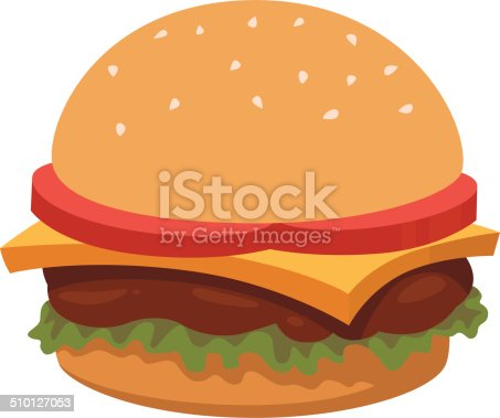istock Burger Cartoon 510127053