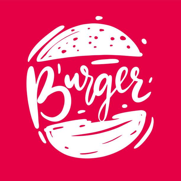 illustrazioni stock, clip art, cartoni animati e icone di tendenza di burger sketch hand drawn vector illustration isolated. - hamburger