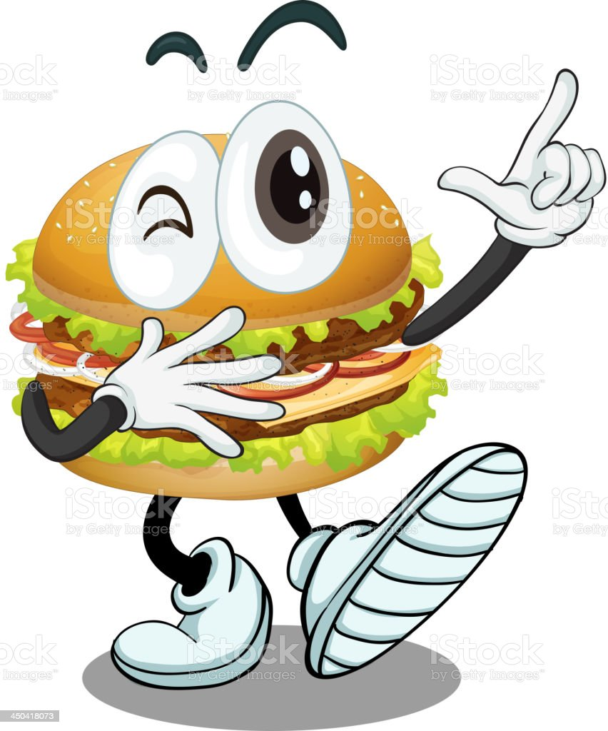 burger royalty-free burger stock vector art & more images of bread
