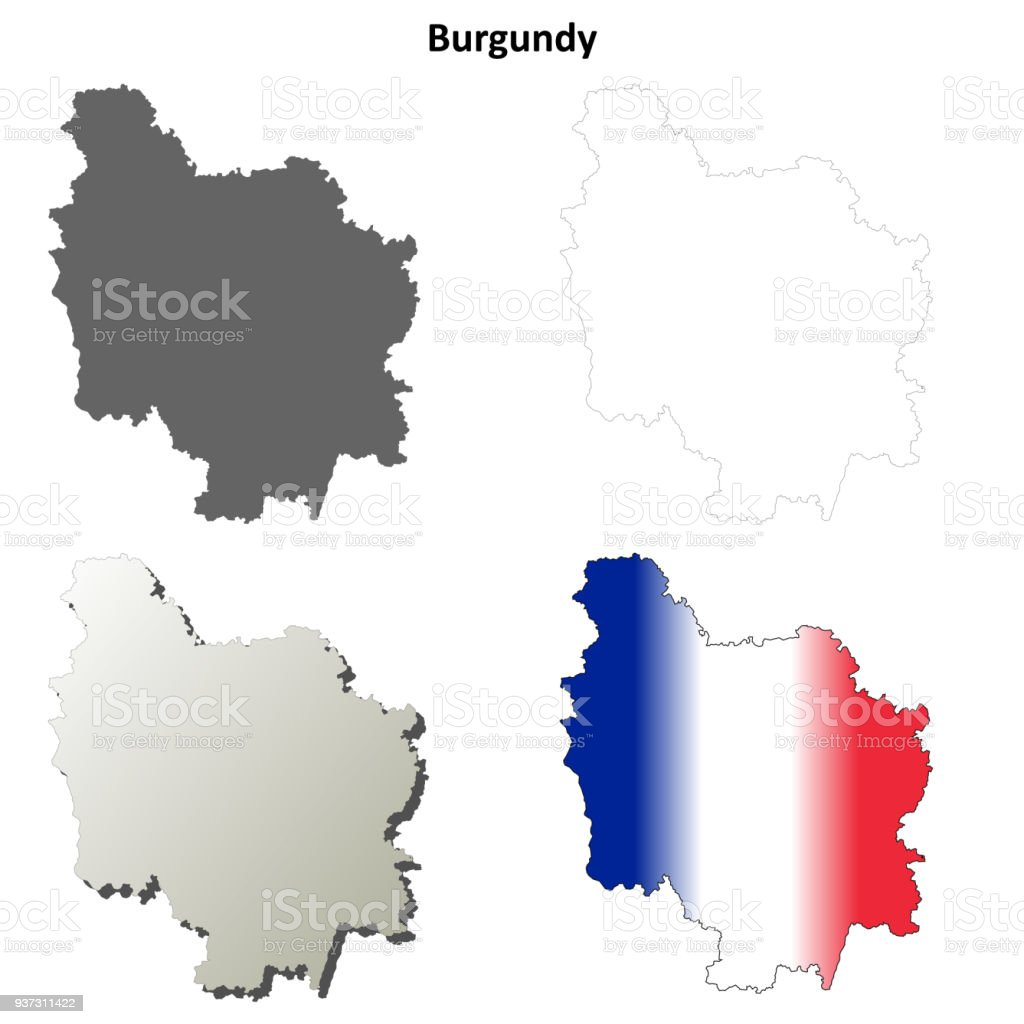 Carte Bourgogne Blanc.Jeu De Carte Bourgogne Blanc Expose Detaille Vecteurs Libres De