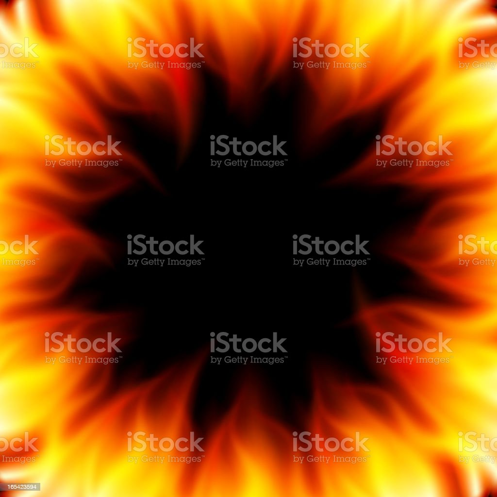 Burn flame fire vector background royalty-free stock vector art