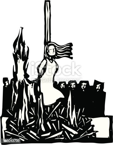 istock Burned at the Stake 156043702