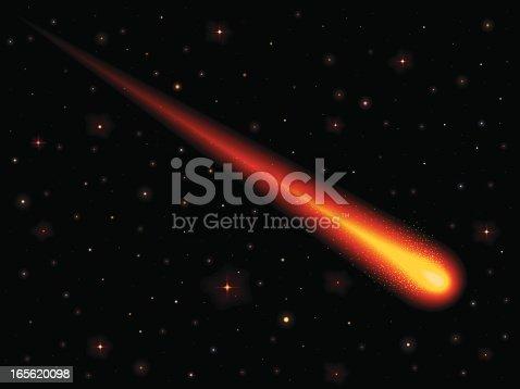 istock Burning Comet 165620098