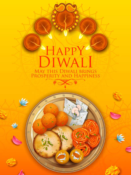 Indian Sweets Illustra...