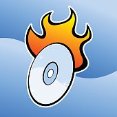 A disk burning infomation.