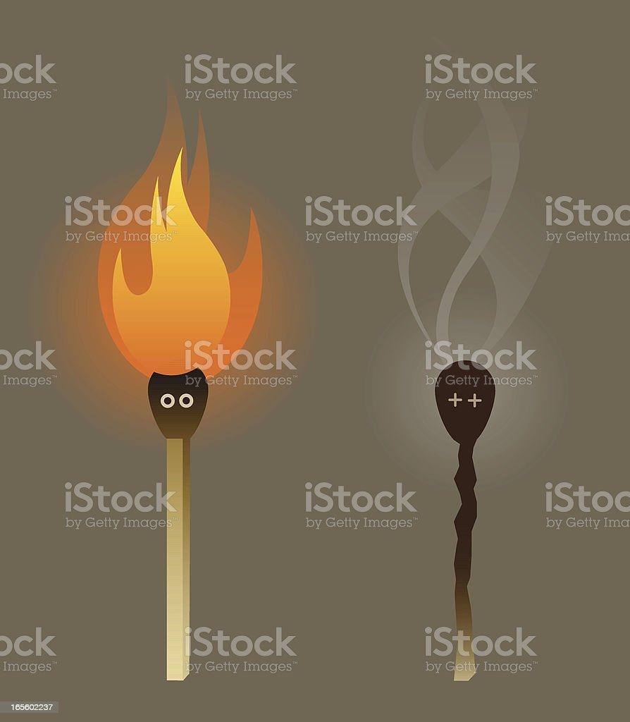 Burnout royalty-free burnout stock vector art & more images of anthropomorphic