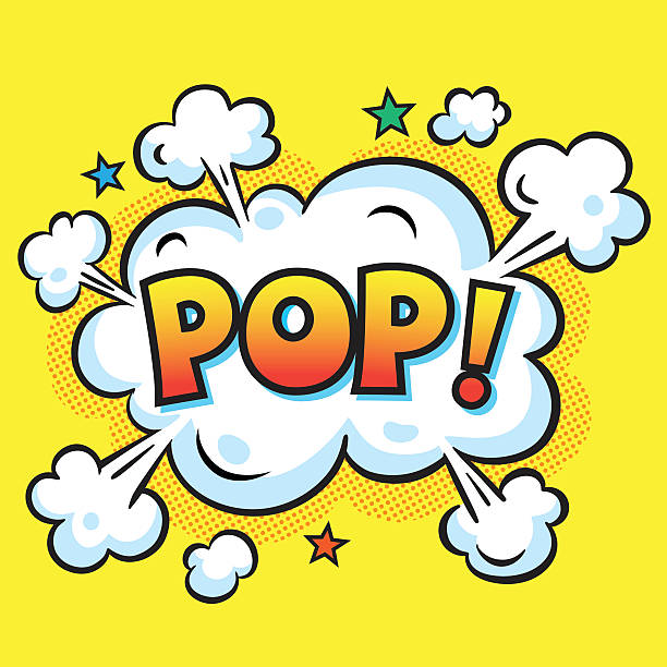 ilustraciones, imágenes clip art, dibujos animados e iconos de stock de pop. ráfaga - bebida gaseosa