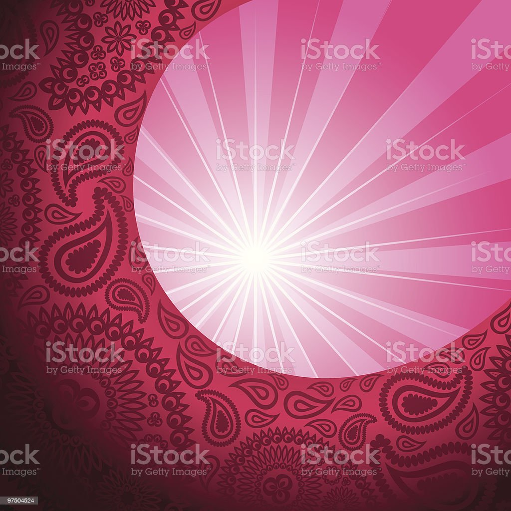 Bursting paisley background royalty-free bursting paisley background stock vector art & more images of abstract