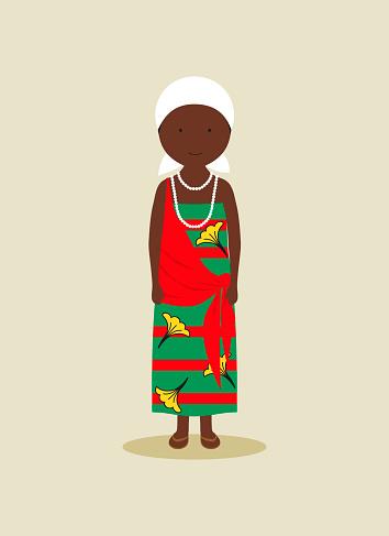 Burundian traditional clothing for women