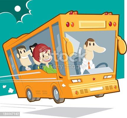 istock bus and passengers 134447142