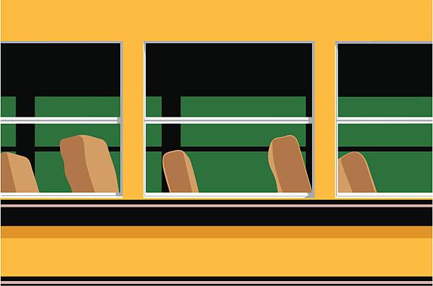 bus leer - fahrzeugsitz stock-grafiken, -clipart, -cartoons und -symbole