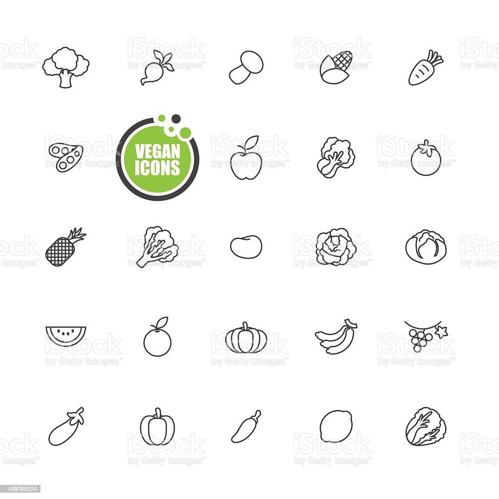 Bus icon set vector art illustration