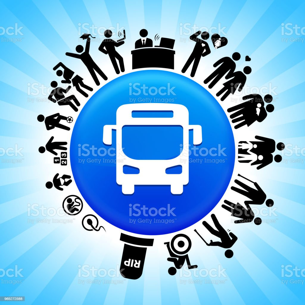 Bus  Lifecycle Stages of Life Background royalty-free bus lifecycle stages of life background stock vector art & more images of adolescence