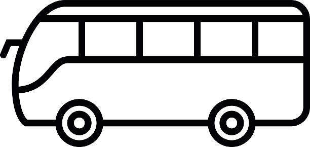 Best White School Bus Illustrations, Royalty-Free Vector