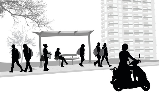 Bus Stop Scooter