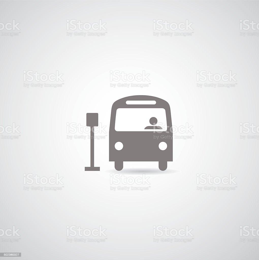 bus vector symbol vector art illustration