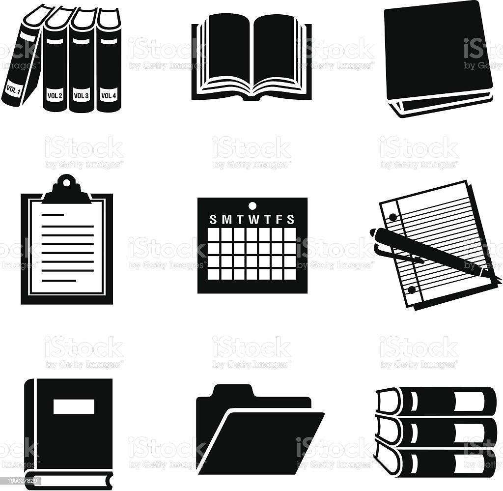 business 11 documents 02 vector art illustration