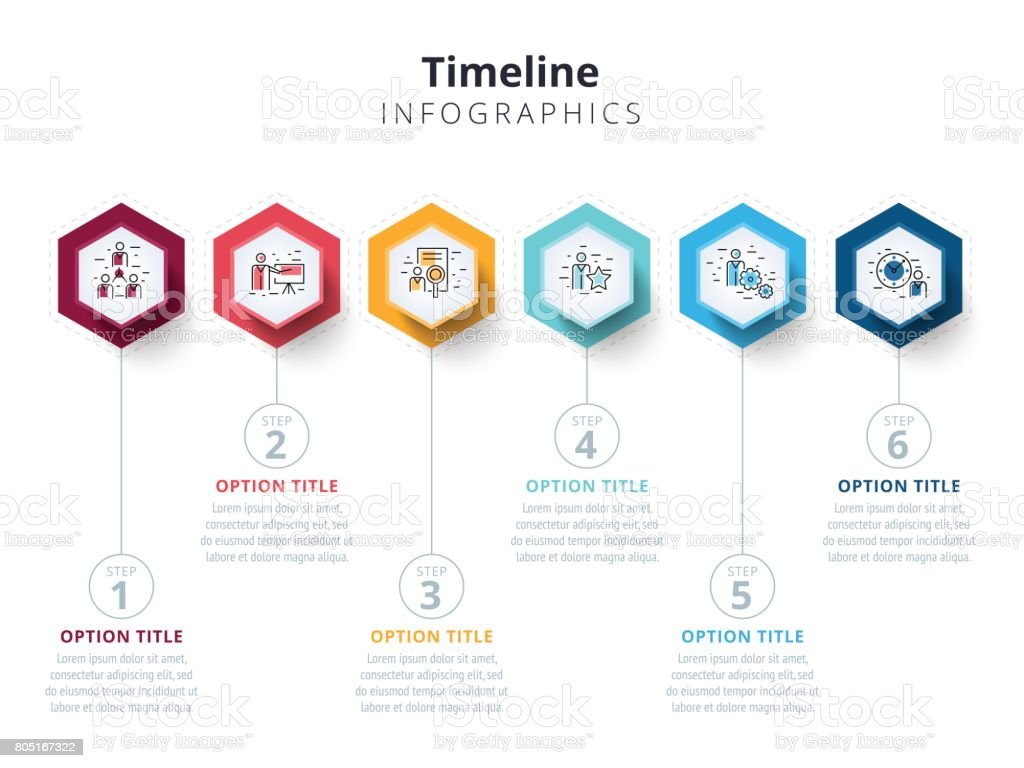 Business 6 step process chart infographics with step circles bright business 6 step process chart infographics with step circles bright corporate graphic elements company ccuart Image collections